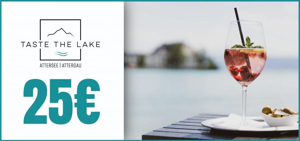 Taste The Lake Gutschein 25 €