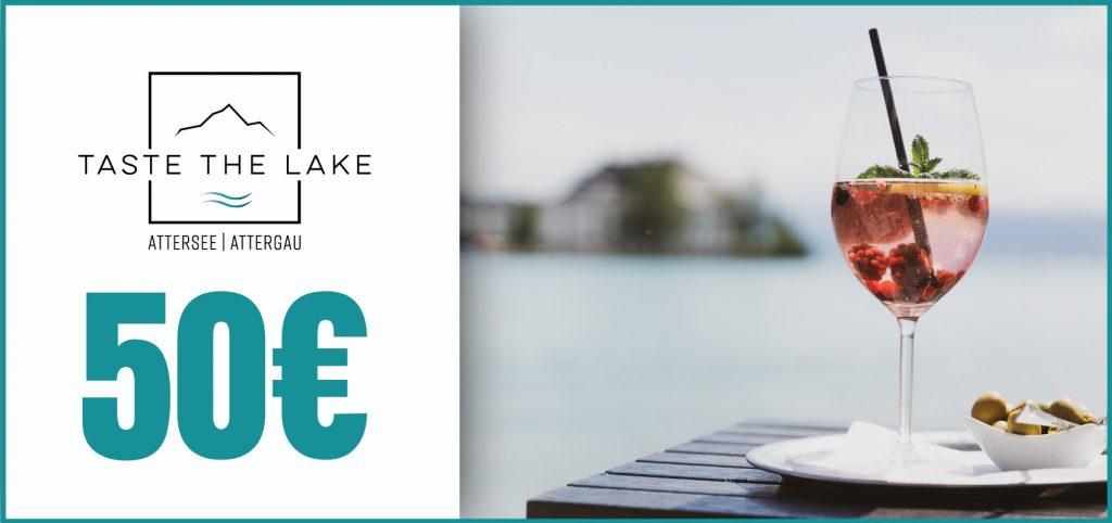 Taste The Lake Gutschein 50 €